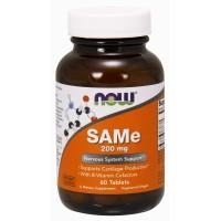 Now Foods, SAMe, 200 mg - 60 Tablets