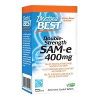 Doctor's Best, SAM-e (S-Adenosyl Methionine), Double Strength, 400 mg - 60 Enteric Coated