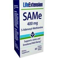 Life Extension, SAMe (S-Adenosyl-L-Methionine), 400 mg - 60 Enteric Coated Tablets