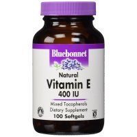 Bluebonnet Nutrition, Natural Vitamin E, 400 IU - 100 Softgels