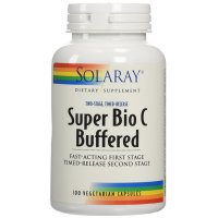 Solaray, Super Bio C Buffered - 100 Vegetarian Capsules