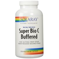 Solaray, Super Bio C Buffered - 250 Vegetarian Capsules