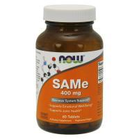 Now Foods, SAMe, 400 mg - 60 Tablets