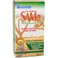 NutraLife, The Original SAMe (S-Adenosyl-L-Methionine), 200 mg - 60 Enteric Coated Tablets