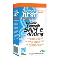 Doctor's Best, SAM-e, Double Strength, 400 mg - 30 Enteric Coated Tablets