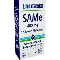 Life Extension, SAMe (S-Adenosyl-L-Methionine), 400 mg - 30 Enteric Coated Tablets