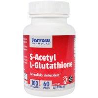 Jarrow Formulas, S-Acetyl L-Glutathione, 100 mg - 60 Tablets