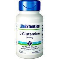 Life Extension, L-Glutamine, 500 mg - 100 Capsules