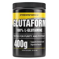 Primaforce, Glutaform, 100% L-Glutamine, Unflavored - 400 g