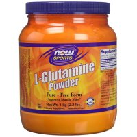 Now Foods, Sports, L-Glutamine Powder - 2.2 lbs (1 kg)