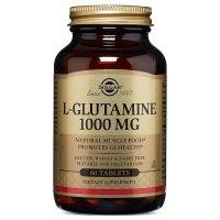 Solgar, L-Glutamine, 1000 mg - 60 Tablets
