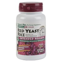 Nature's Plus, Herbal Actives, Red Yeast Rice, 600 mg - 30 Tablets