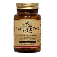 Solgar, Reduced L-Glutathione, Free Form, 50 mg - 90 Vegetable Capsules