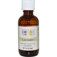 Aura Cacia, 100% Pure Essential Oil, Lavender, Calming - 2 fl oz (59 ml)