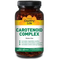Country Life, Carotenoid Complex - 60 Softgels