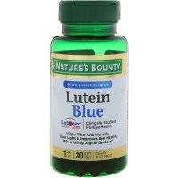 Nature's Bounty, Lutein Blue - 30 Softgels