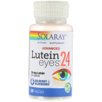 Solaray, Advanced, Lutein Eyes, 24 mg - 60 VegCaps