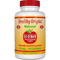 Healthy Origins, Lyc-O-Mato, Tomato Lycopene Complex - 15 mg, 60 Softgels