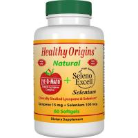 Healthy Origins, Lyc-O-Mato Lycopene + Seleno Excell - 60 Softgels