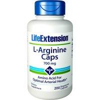 Life Extension, L-Arginine Caps, 700 mg - 200 Veggie Caps