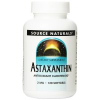 Source Naturals, Astaxanthin, 2 mg - 120 Softgels