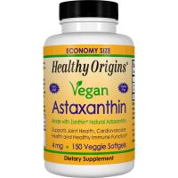 Healthy Origins, Vegan Astaxanthin, 4 mg - 150 Veggie Softgels