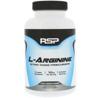 RSP Nutrition, L-Arginine, 750 mg - 100 Capsules