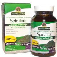 Nature's Answer, Spirulina, 800 mg - 90 Vegetarian Capsules