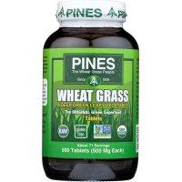 Pines International, Organic, Wheat Grass, 500 mg - 500 Tablets