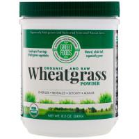 Green Foods Corporation, Organic and Raw, Wheatgrass Powder - 8.5 oz (240 g)