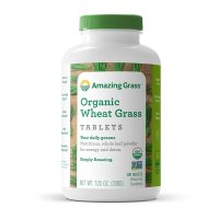 Amazing Grass, Organic Wheat Grass Tablets, 1000 mg - 200 Tablets