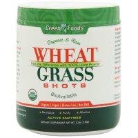 Green Foods Corporation, Organic & Raw Wheat Grass Shots - 5.3 oz (150 g)