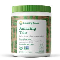 Amazing Grass, The Amazing Trio, Barley Grass & Wheat Grass & Alfalfa - 8.5 oz (240 g)