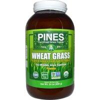 Pines International, Pines Wheat Grass, Powder - 24 oz (680 g)