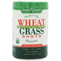 Green Foods Corporation, Organic & Raw, Wheat Grass Shots - 10.6 oz (300 g)