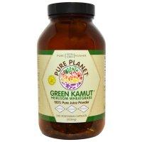 Pure Planet, Green Kamut, Heirloom Wheatgrass - 240 Veggie Caps
