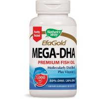 Nature's Way, EfaGold, Mega-DHA, 1000 mg - 60 Softgels