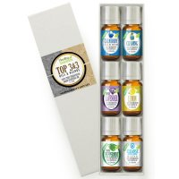 Healing Solutions, Aromatherapy Top 3 Blends & Top 3 Pure Oils Set 100% Pure, Best Therape