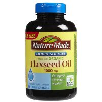 Nature Made, Flaxseed Oil, 1000 mg - 180 Softgels