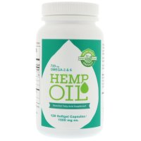 Manitoba Harvest, Hemp Oil, 1,000 mg - 120 Softgel Capsules