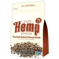 Just Hemp Foods, Toasted Salted Hemp Seed - 16 oz (450 g)