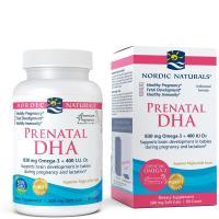 Nordic Naturals, Prenatal DHA, 500 mg, Unflavored Formula - 90 Soft Gels