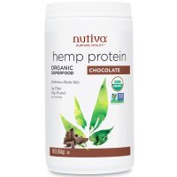 Nutiva, Organic Superfood, Hemp Protein Shake Mix, Chocolate - 16 oz (454 g)