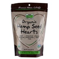 Now Foods, Real Food, Organic, Hemp Seed Hearts - 8 oz (227 g)