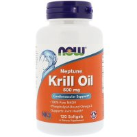 Now Foods, Neptune Krill Oil, 500 mg - 120 Softgels