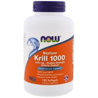 Now Foods, Neptune Krill, 1000 mg - 120 Softgels