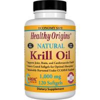 Healthy Origins, Natural Krill Oil, 1000 mg - 120 Softgels