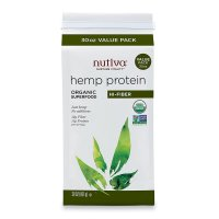 Nutiva, Organic Hemp Protein, Hi-Fiber - 30 oz (851 g)