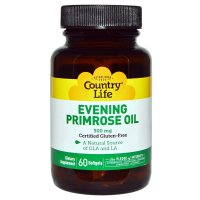 Country Life, Evening Primrose Oil, 500 mg - 60 Softgels