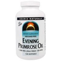 Source Naturals, Evening Primrose Oil, 1,350 mg - 120 Softgels